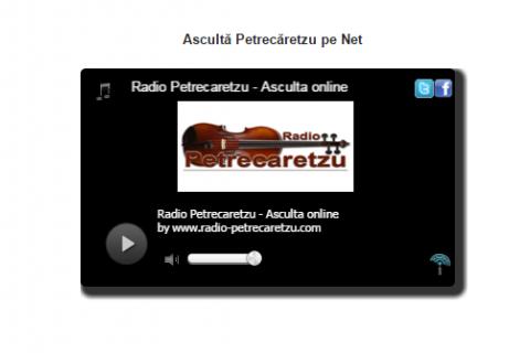 petrecaretzu asculta radio online