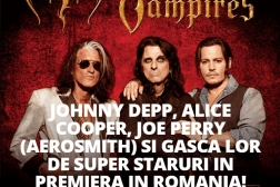 Concert Johnny Depp, Alice Cooper, Joe Perry in Romania